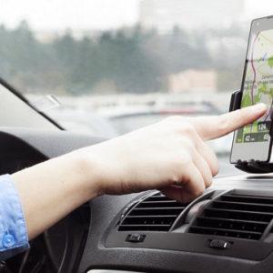 Držáky na mobily a navigace