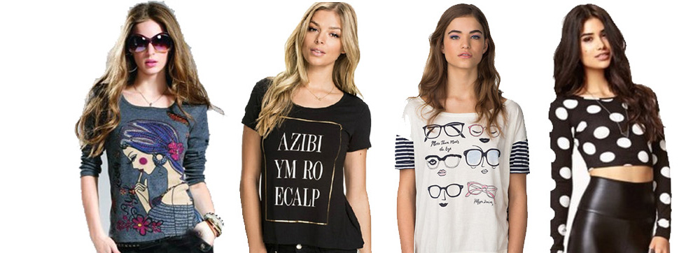 Moda - Dámská konfekce - trička