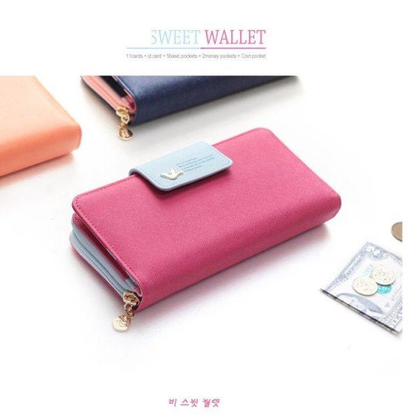 1fcf839452f ... Luxusní velká praktická peněženka ...