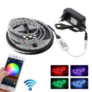 Barevný LED pásek s Wi-Fi - 5 m