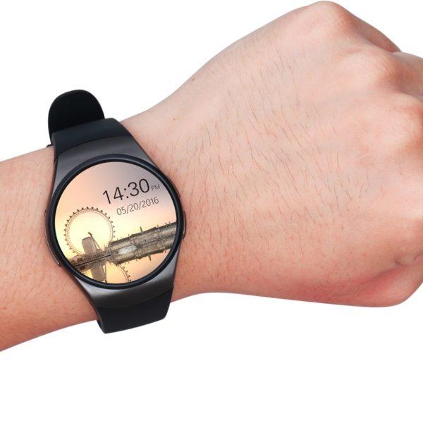 a953a70b1ca ... Chytré hodinky Kingwear KW18 s Androidem ...