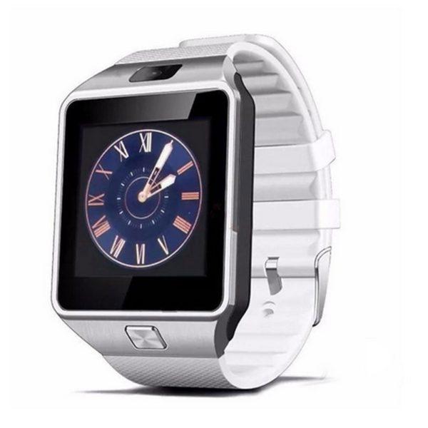 Chytré hodinky Smartwatch DZ09 - stříbrná ee3cc6258b