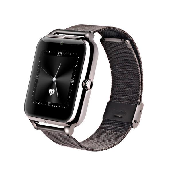 Chytré hodinky Smartwatch Z50 s Androidem a NFC - černá ... 565d852c95