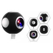 360° VR kamera 16MP s wifi - Dvoj kamera