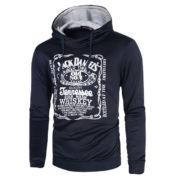 Pánská mikina Jack Daniels Tennessee - černá