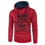 Pánská mikina Jack Daniels Tennessee - červená