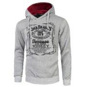 Pánská mikina Jack Daniels Tennessee - šedá