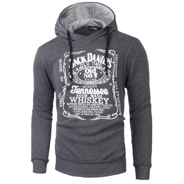 Pánská mikina Jack Daniels Tennessee - tmavě šedá