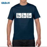 Pánské tričko Bazinga z periodických prvků - tmavě modrá