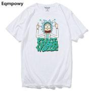 Pánské tričko Rick and Morty - bílá