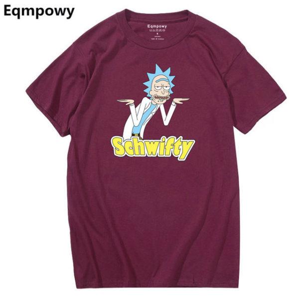 Pánské tričko Rick and Morty - fialová