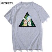 Pánské tričko Rick and Morty - šedá