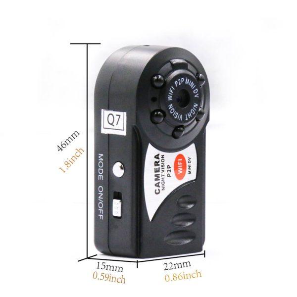 Mini kamera s nočním viděním a WIFI 1