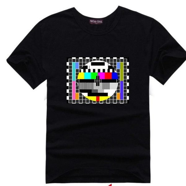 Sheldnovo tričko - TV signál - černá