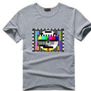 Sheldnovo tričko - TV signál - šedá