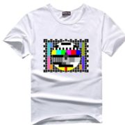 Sheldnovo tričko - TV signál - bílá