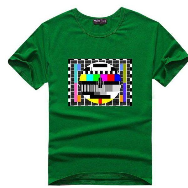 Sheldnovo tričko - TV signál - zelená
