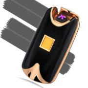 USB zapalovač na otisk prstů - čermá