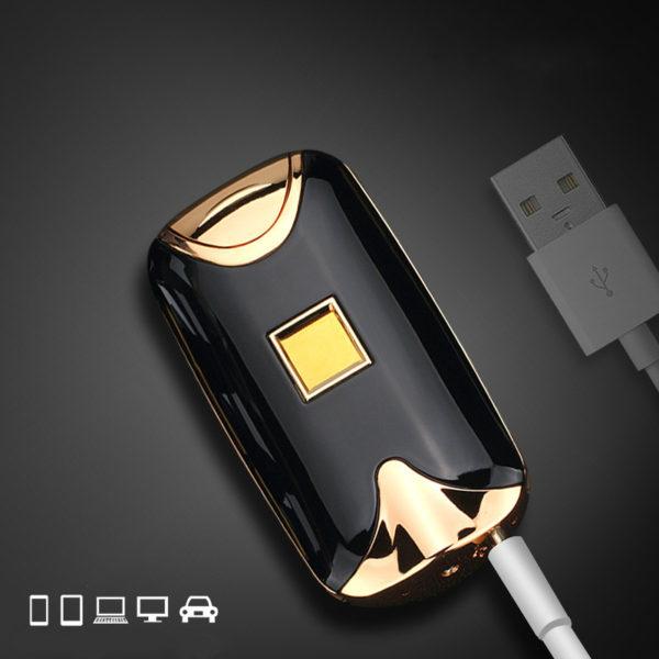USB zapalovač na otisk prstů 2