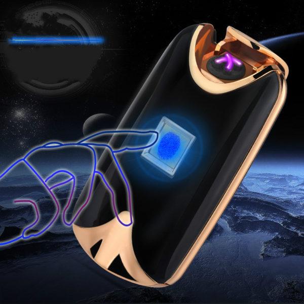 USB zapalovač na otisk prstů